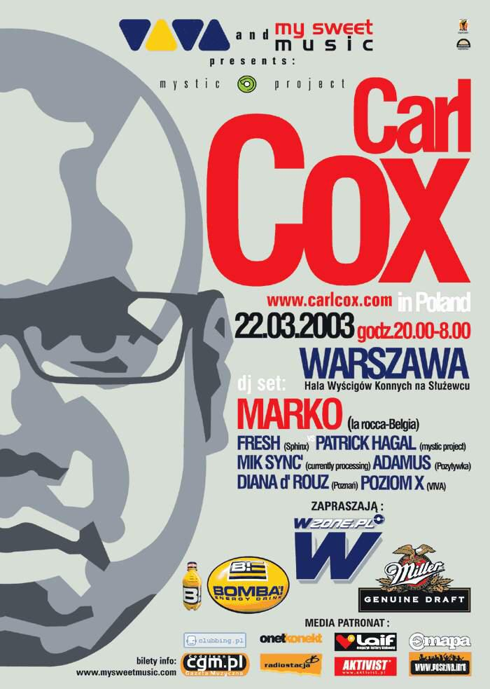 Carl Cox in Poland – Two Moons Events