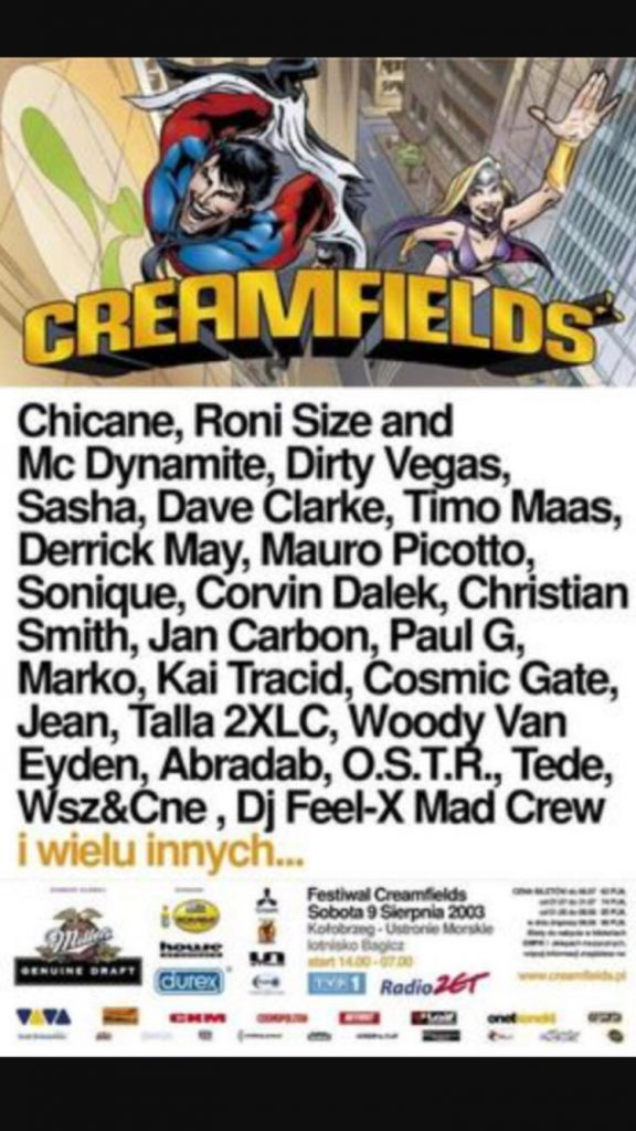 Creamfields – Two Moons Events